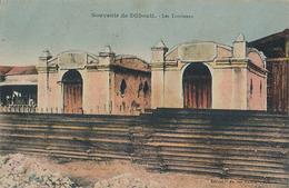 DJIBOUTI - SOUVENIR DE DJIBOUTI - LES TOMBEAUX - Djibouti