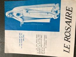 Le Rosaire (plaquette De 14 Cm Sur 11 Cm) - Religion & Esotérisme