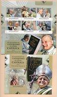 TIMBRES - STAMPS - SELLOS - MOZAMBIQUE / MOÇAMBIQUE - 2012 - PAPE JEAN PAUL II - SÉRIE ET BLOC AVEC TIMBRE NEUF - MNH - Christianisme