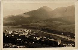 Slovakia, Hungary, Ruzomberok, Rózshegy, Rybárpole, Rybarpolje, Factory, Old Postcard - Slowakije