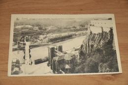 7867-   DINANT, (PENDANT LA GUERRE 1914-1918) VUE PRISE DES GLACIS DE LA CITADELLE - Dinant