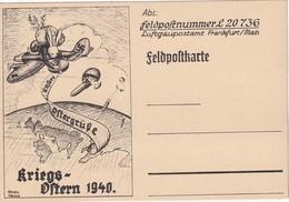 ALLEMAGNE 1940 FELDPOSTKARTE - Allemagne