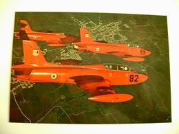 AERONAUTICA MILITARE ITALIANA   MB 326  NON  VIAGGIATA COME DA FOTO  AEREO AIRPLANE - 1946-....: Modern Era