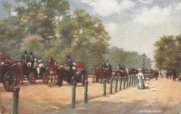 """London. In Hyde Park"" Tuck Oilette Hyde Park Series PC # 7180 - Tuck, Raphael"