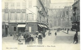Clermont-Ferrand - Place Royale, 1903(?) - Clermont Ferrand