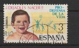 "MiNr. 2175 Spanien 1975, 9. Sept. Aktion ""Schützt Das Leben"". - 1931-Heute: 2. Rep. - ... Juan Carlos I"