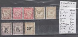 TAXES DE FRANÇE NEUF** 1859/55 Nr 2362 A LUXE COTE 133 € - Taxes