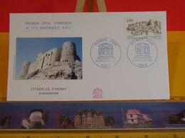 UNESCO. Citadelle D'Herat (Afghanistan) - Paris - 23.11.1991 FDC 1er Jour N°1774 - Coté 2€ - FDC