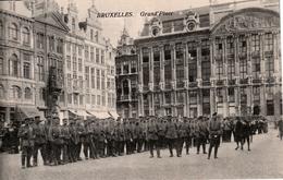 BRUXELLES SOLDATS ALLEMANDS - België
