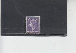 LUSSEMBURGO 1958 - Unificato  547 - Carlotta - Lussemburgo