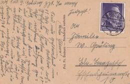 GENERAL GOUVERNEMENT  1943 LETTRE DE RATIBOR - Occupation 1938-45