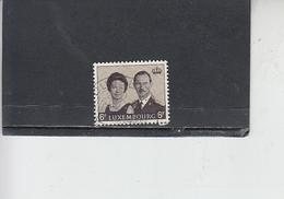 LUSSEMBURGO 1964 - Unificato  653 - Granduca E Principessa - Usati