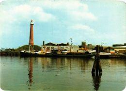 CPM IJMUIDEN Vissershaven LIGHTHOUSE PHARE (708692) - Leuchttürme