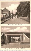ERNAGE  Rue Omer Piérrard Et Le Pont Et La Rue Omer Piérrard. - Gembloux