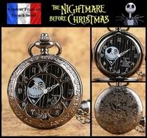 Montre Gousset NEUVE ! ( Pocket Watch ) - The Nightmare Before Christmas ( Ref 2 ) - Montres Gousset