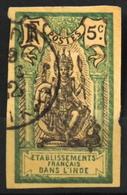 France (ex-colonies & Protectorats) > Inde - 1903 N° 29 Y & T Non Dentelé Oblitéré - Inde (1892-1954)