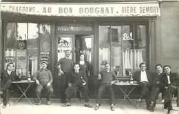 PARIS - Au Bon Bougnat, Dumas Propriétaire, Carte Photo à Localiser. - Da Identificare