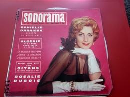 Magazine Sonorama N°21-Jui 1960-Musique Disque Vinyle Format Spécial-Danielle Darrieux-Algérie-Rosalie Dubois-airs Pubs - Formats Spéciaux