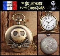 Montre Gousset NEUVE ! ( Pocket Watch ) - The Nightmare Before Christmas ( Ref 4 ) - Montres Gousset