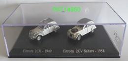 CITROEN 2CV DUO HO 1/87ème UNIVERSAL HOBBIES - Auto's, Vrachtwagens, Bussen
