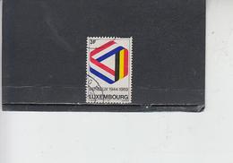 LUSSEMBURGO 1969 - Unificato  743 - Benelux - Usati
