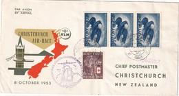 PAYS- BAS 1953 LETTRE DE GRAVENHAGE - 1949-1980 (Juliana)