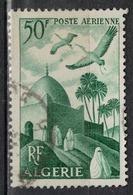 ALGERIE        N°  YVERT    PA  9        OBLITERE       ( O   2/48 ) - Algérie (1924-1962)