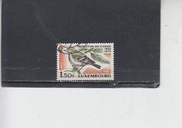 LUSSEMBURGO 1970 - Unificato  756 - Fauna - Uccello - Usati