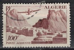 ALGERIE        N°  YVERT    PA  10        OBLITERE       ( O   2/48 ) - Algérie (1924-1962)