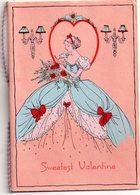 CPA, Saint Valentin, Carte Double En Anglais - Saint-Valentin
