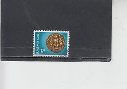 LUSSEMBURGO 1974 - Unificato  831 - Sigollo - Lussemburgo