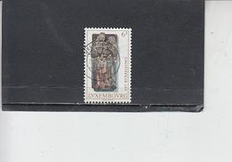 LUSSEMBURGO 1976 - Unificato  883 - S.Anna - Lussemburgo