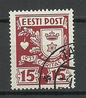 ESTLAND Estonia 1937 Caritas Michel 128 O - Estland