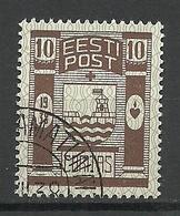 Estland Estonia 1938 CARITAS Michel 131 O Special Cancel RAAMATUNÄITUS Exhibition - Estonie