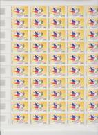 Faciale 21.35 Eur ; Feuille De 50 Tbs à 2.80f N° 2947 (cote 62.50 Euros) - Feuilles Complètes