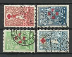 Estland Estonia 1931 Michel 90 - 93 O - Estonie