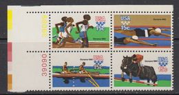 USA 1979 Olympic Sommergames 4v (corner) ** Mnh (41837G) - Verenigde Staten