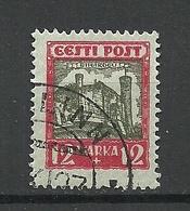 Estland Estonia 1927 Michel 65 O Signed - Estonie