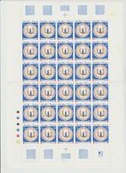 Faciale 13.25 Eur ; Feuille De 30 Tbs à 2.90f N° 2646 (cote 42 Euros) - Feuilles Complètes
