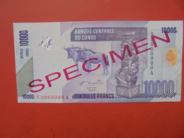 SPECIMEN ! CONGO 10.000 FRANCS 2006 UNC ! - Congo