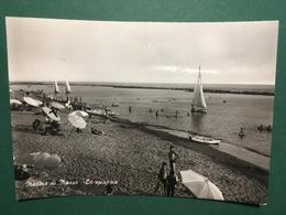 Cartolina Marina Di Massa - La Spiaggia - 1963 - Massa