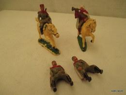 2 Cavaliers Starlux Plus Deux Cavaliers Sans Montures - Toy Memorabilia
