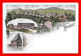 CPA GOSLAR (Allemagne)  Gruss Aus Goslar...I0549 - Goslar