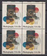 USA 1978 Photography 1v Bl Of 4 ** Mnh (41838A) - Verenigde Staten
