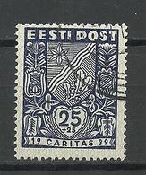 Estland Estonia 1939 CARITAS Michel 144 O - Estonie