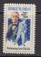 USA 1978 George M. Cohan 1v ** Mnh (41838B) - Verenigde Staten
