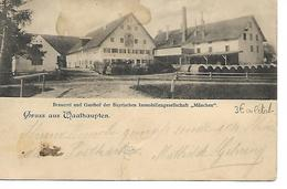 Allemagne - Gruss Aus Waalhaupten - Munchen - Germania
