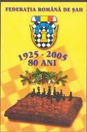 GAMES, CHESS, ROMANIAN FEDERATION ANNIVERSARY - Echecs