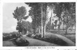 Bois De Lessines  Eglise Et Bas De La Place Lessen      I 5559 - Lessines