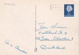 PAYS-BAS CARTE POSTALE DE HAARLEM - 1949-1980 (Juliana)